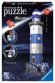 3D puzle Ravensburger Lighthouse Night Edition 12577, 216 gab.