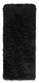 Ковер AmeliaHome Karvag, черный, 160 см x 50 см