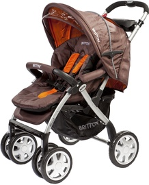 Britton Allroad Stroller Brown/Orange