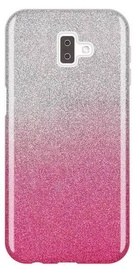 Wozinsky Glitter Shining Back Case For Samsung Galaxy J6 Plus Pink