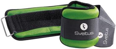 Universālie svari Sveltus Lycra Weighted Cuffs 1kg Green