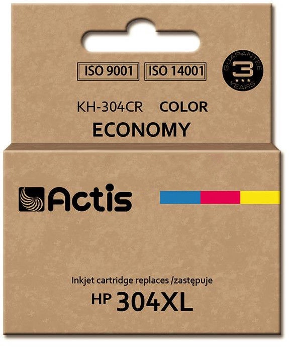 Actis KH-304 replacement for HP 304XL N9K08AE Multi Color