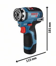 Bosch GSR 12V-35 FC Cordless Drill L-BOXX 06019H3003
