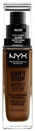 Tonizējošais krēms NYX Can't Stop Won't Stop CSWSF22.3 Walnut, 30 ml