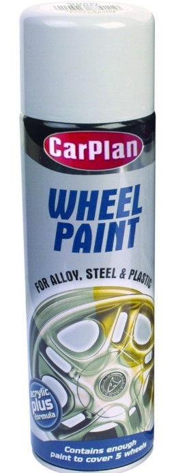 CarPlan Wheel Paint Silver 500ml