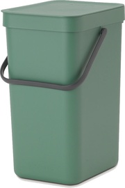 Brabantia Sort And Go Waste Bin 16l Green