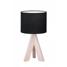 Trio Reality Table Lamp Ging 40W E14 Black