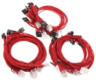 Super Flower Sleeve Cable Kit Red