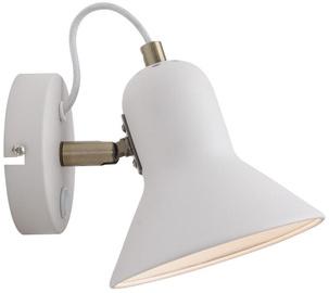 Light Prestige Astama E14 40W Wall Lamp White