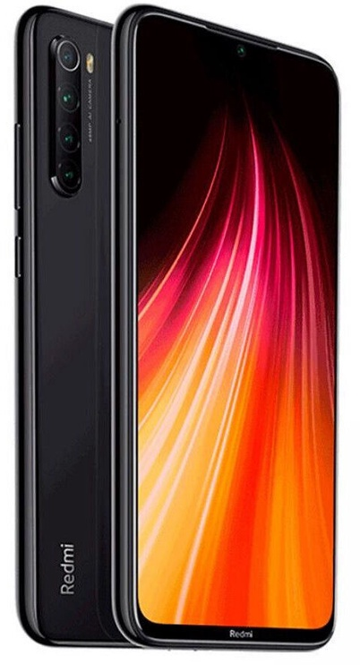 Мобильный телефон Xiaomi Redmi Note 8 4/128GB Dual Space Black (поврежденная упаковка)