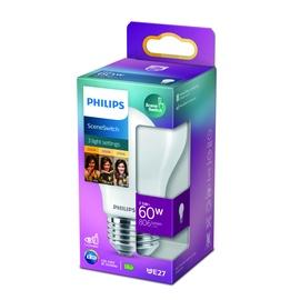 Spuldze Philips 929002445517, led, E27, 7.5 W, 80 - 806 lm, silti balta
