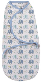 Summer Infant SwaddleMe Original Swaddle Small Elephant Splash
