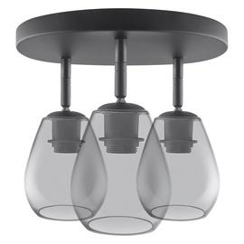 Gaismeklis Osram Cone Spot A806363WL Ceiling Lamp 3x60W E27 Black