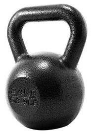 ProIron Solid Cast Iron Kettlebell Black 24kg