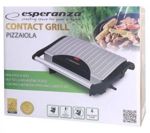 Elektriskais grils Esperanza Pizzaiola EKG005