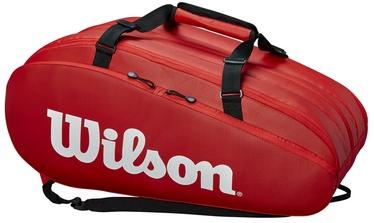 Рюкзак Wilson Tour 3 Compartment Bag Red, красный