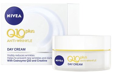 Sejas krēms Nivea Q10 Plus Anti Wrinkle Day Cream SPF30, 50 ml