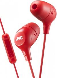 Austiņas JVC HA-FX38M Red