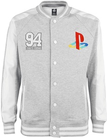 Licenced Playstation Since 94 College Jacket Grey XL