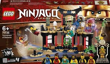 Konstruktors LEGO Ninjago Elementu turnīrs 71735, 283 gab.