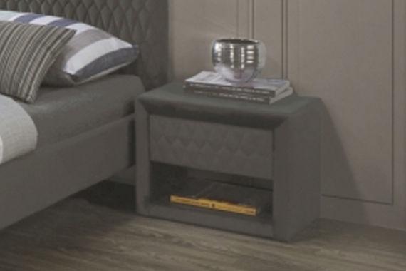 Ночной столик Signal Meble Azurro Dark Gray