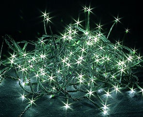 Электрическая гирлянда Verners LED 400, белый, 15 м