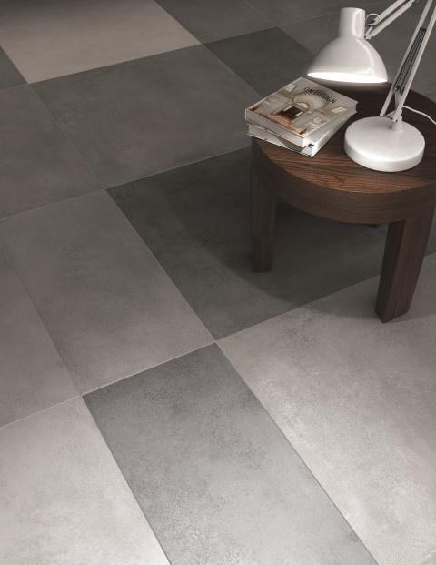 Kerama Marazzi Floor Tiles Mirabeau 300x600mm Dark Grey
