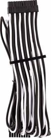 Corsair Premium Sleeved 24-pin ATX cable Type 4 Gen 4 White/Black