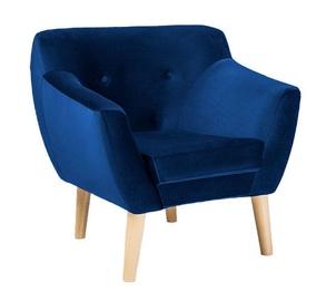 Atzveltnes krēsls Signal Meble Bergen 1 Velvet Blue, 78x54x76 cm