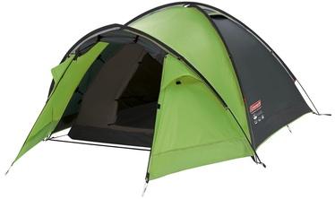 Trīsvietīga telts Coleman Pingora 3 Blackout, zaļa
