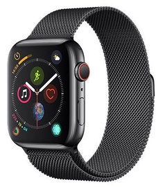 Devia Elegant Series Milanese Loop 44mm Space Black for Apple Watch