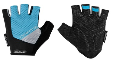 Force Dart Short Gloves Blue Grey L