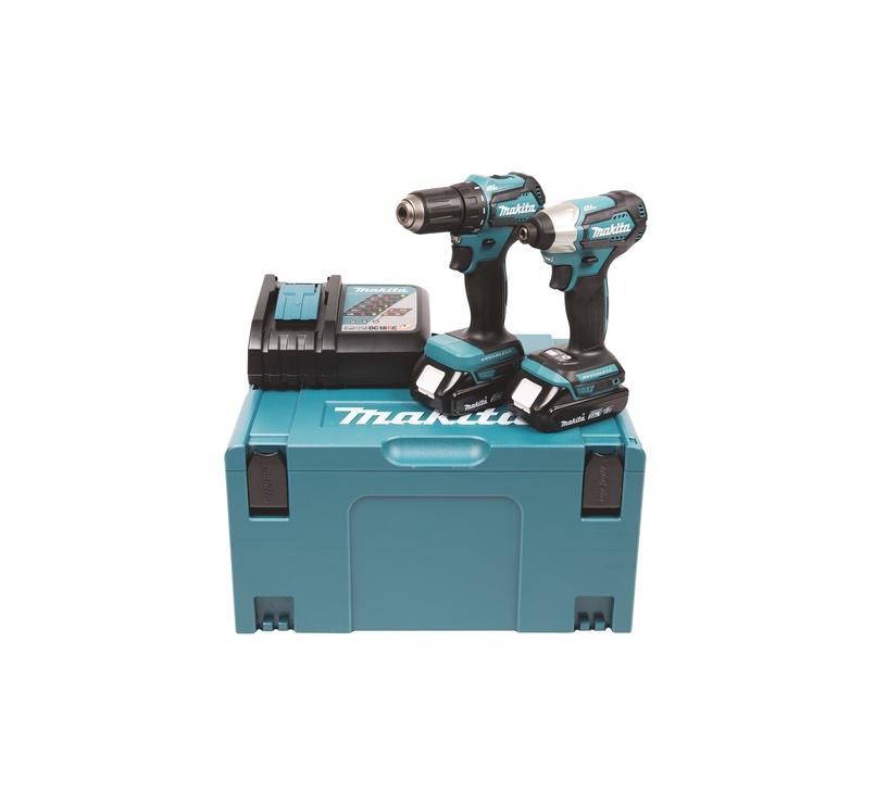 Akumulatora skrūvgriezējs - urbis Makita DLX2220AJ