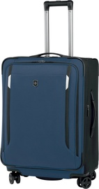 Victorinox Werks Traveler 5.0 WT 24 Dual-Caster Blue