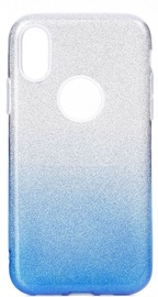 Forcell Shining Back Case For Xiaomi Redmi Note 7 Transparen/Blue