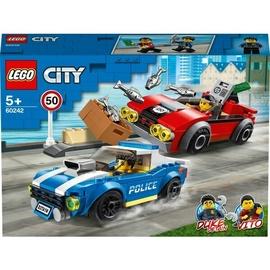 Konstruktors LEGO® City 60242 Policija: arests uz šosejas
