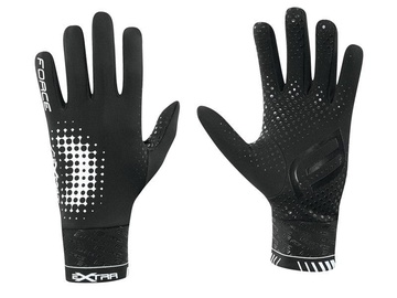 Force Extra Full Gloves Black L