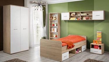 Комплект мебели для детской комнаты ASM Dino II, белый/дубовый