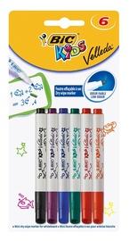 Baltās tāfeles marķieris BIC Kids Velleda Mini Marker For Whiteboard 6pcs