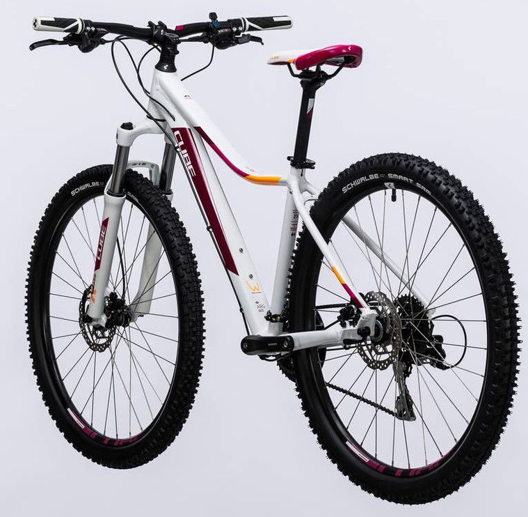 """Velosipēds Cube Access WLS Exc 19"""" 29"""" White Berry 17"""