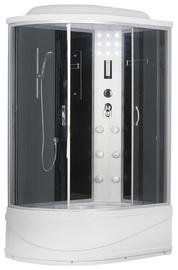 Dušas kabīne Erlit 4512TPL-C4, pusapaļā, 1200x800x2150 mm