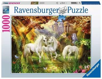 Puzle Ravensburger Unicorns In The Forest 15992, 1000 gab.