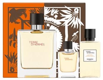Духи Hermes Terre D Hermes EDT 100 мл + EDT 5 мл + Гель для душа 40 мл