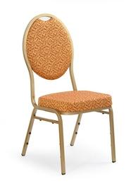 Ēdamistabas krēsls Halmar K67 Gold