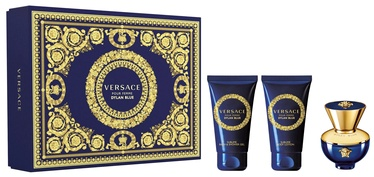 Sieviešu smaržu komplekts Versace Dylan Blue Femme 3pcs Set 150 ml EDP