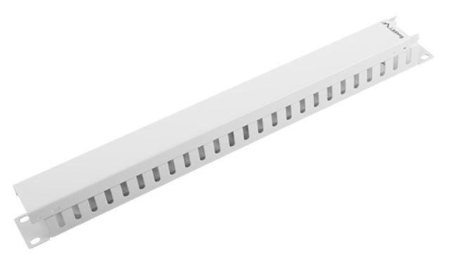 Lanberg Cable Management Panel A 19''1U Grey