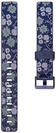 Fitbit Print Accessory Band For Fitbit Inspire L Bloom