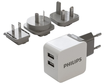 Philips USB Trravel Charger White DLP2220/10