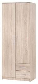 Skapis Halmar Lima S-2 Sonoma Oak, 80x52x205 cm