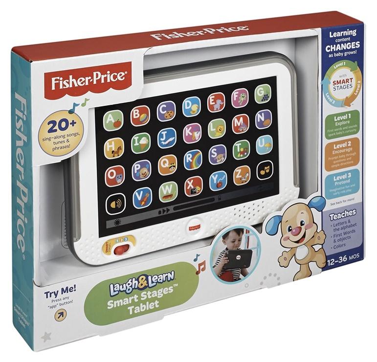 Interaktīva rotaļlieta Fisher Price Laugh & Learn Smart Stages Tablet DLM39, LV
